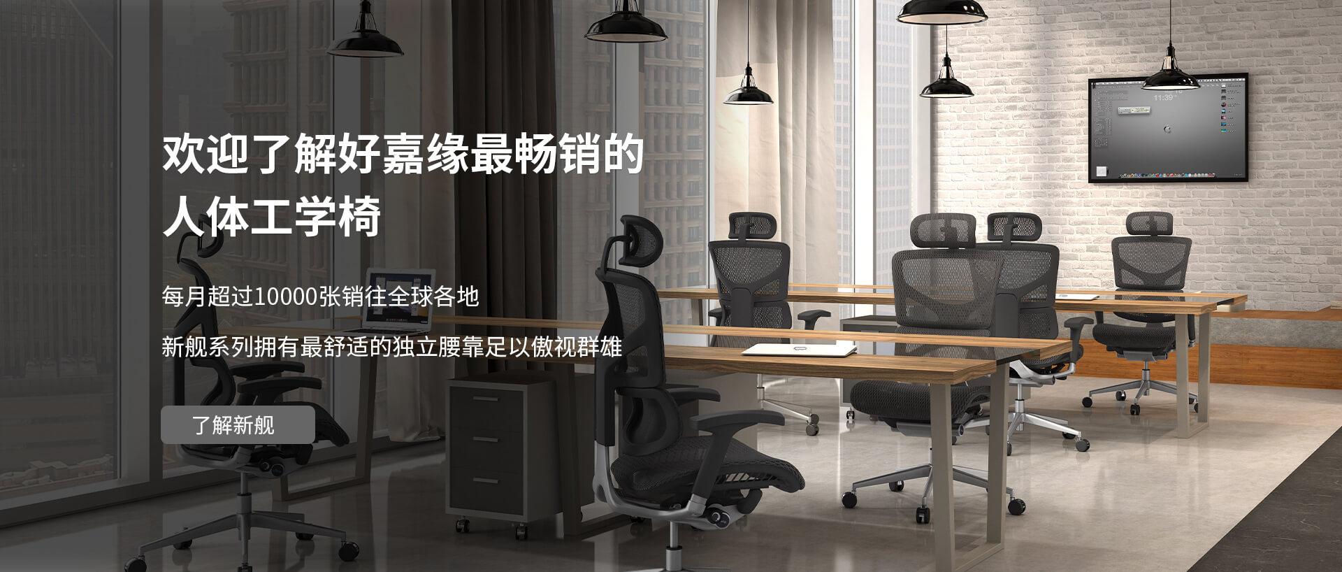 好嘉缘最畅销的人体工学椅